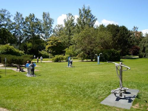 Seniorenspielplatz im Kurpark Reinhardshausen